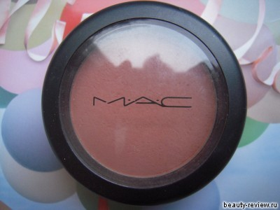 Румяна MAC оттенок Blushbaby