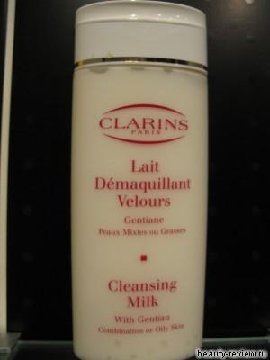 Очищающее молочко Clarins