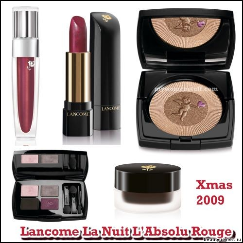 Рождественская коллекция La Nuit L'Absolu Rouge от Lancome