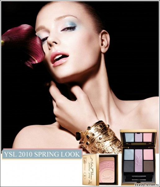 Весенняя коллекция 2010 от YSL — YSL 2010 Spring Look Collection