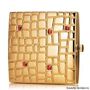 Estee Lauder Golden Cobblestones Powder Compact