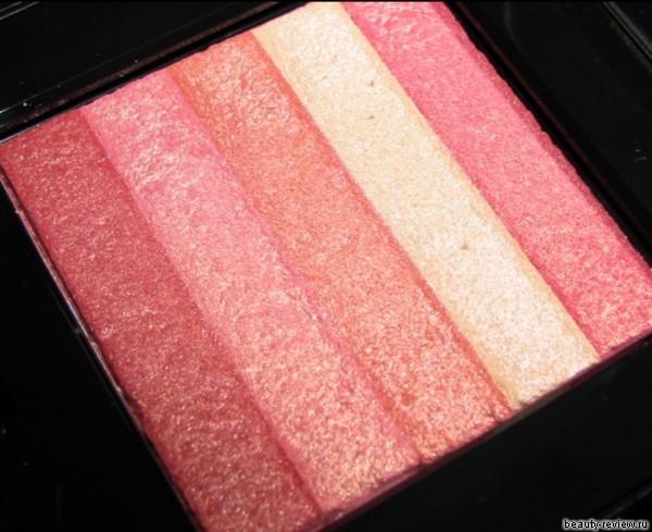 Nectar Shimmer Brick из коллекции Coral Cabana Bobbi Brown — свотчи