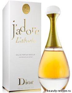 Лимитированное издание новой уникальной интерпретации J'Adore — J'Adore L'Absolu.
