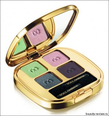 Dolce & Gabbana The Midnight Bloom Makeup, Eyeshadow Quad