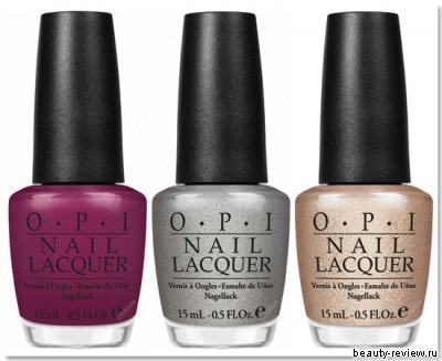 коллекции лаков OPI и China Glaze осень 2010