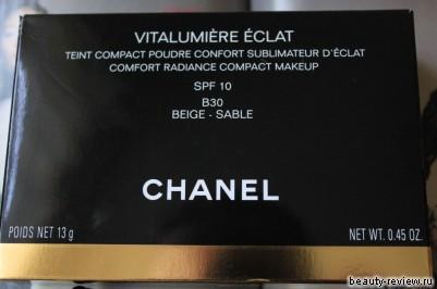 пудра Chanel Vitalumiere Eclat Compact