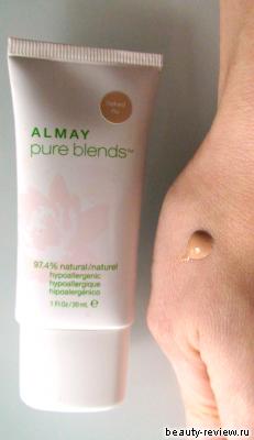 "Тональные крема ""Pure Blend"" и ""Nearly naked make up"" от ALMAY"