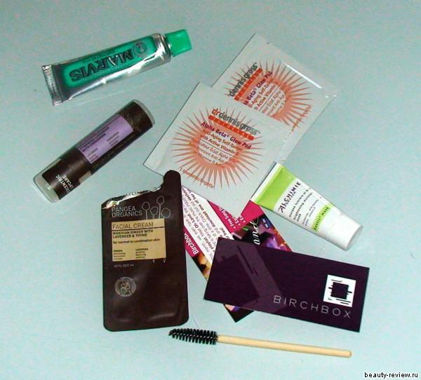 Вторая посылка с бьюти-продуктами от BIRCHBOX.com