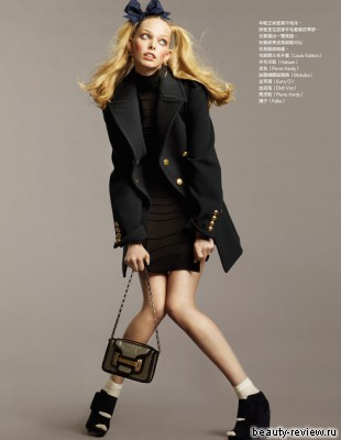 Таня Дягилева для Vogue Taiwan