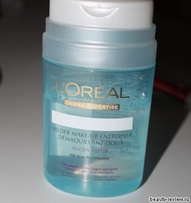 средство для снятия макияжа с глаз Loreal