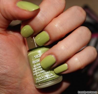 mavala pistachio