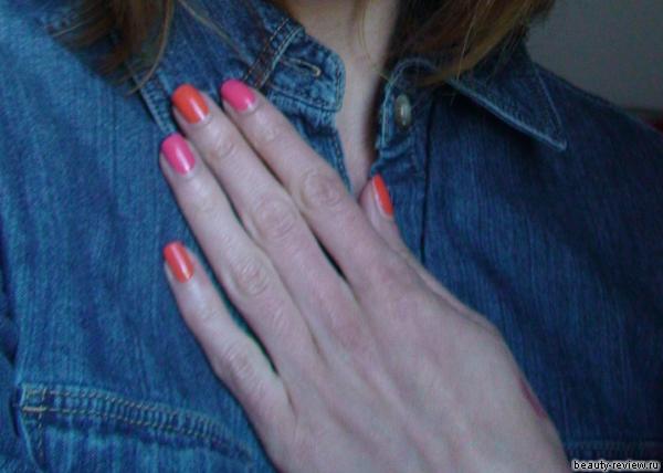 Ярко и сочно — ORLY Tangerine и Wet n Wild Tropicalia