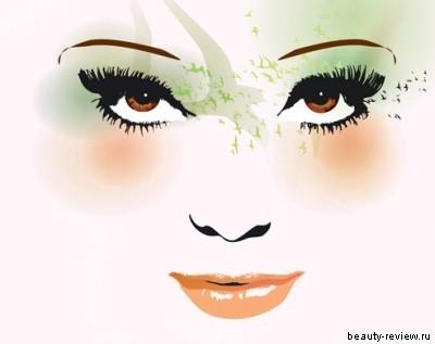 макияж для кареглазых девушек с темно-русыми волосами