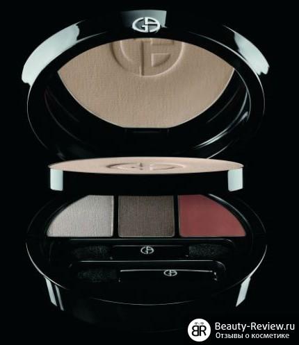 Рождественские коллекции макияжа (зима 2012) — Clarins, YSL, Giorgio Armani