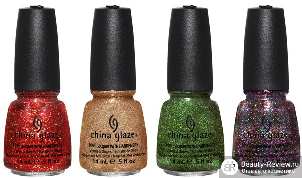 лаки china glaze рождество 2012