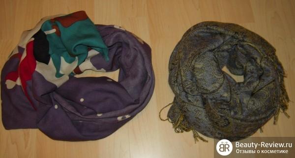 шарфы и платки