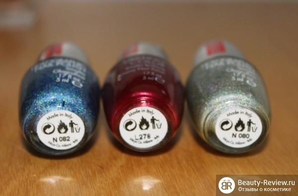 Лаки Pupa — Holographic и Lasting Color