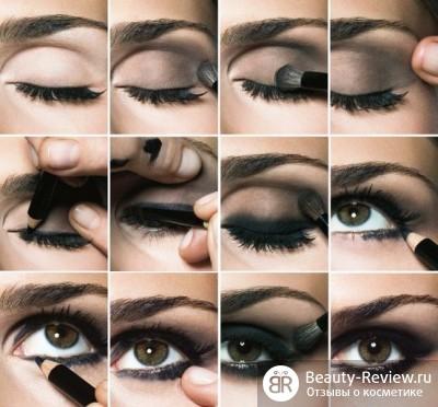 макияжа дымчатых глаз.