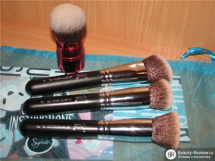 Sigmaшоппинг — Набор кабуки Sigma Synthetic Face Kit