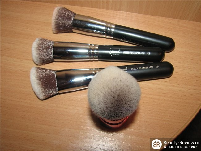 Sigmaшоппинг — Набор с трех кабуки Sigma Synthetic Face Kit