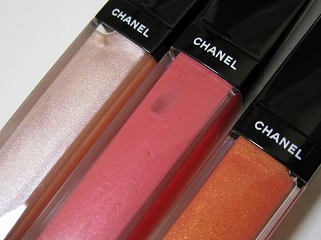 Свотчи рождественской коллекции Шанель — Chanel Holiday Collection 2009