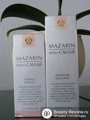 Питательная эссенция и увлажняющая эмульсия от Mazarin