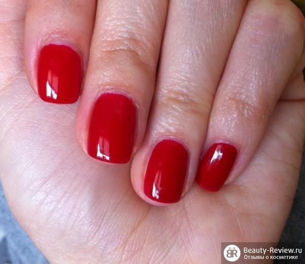 Ногти накрашенные лаком