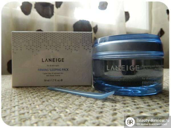 Ночная маска для упругости кожи Laneige Firming Sleeping Pack