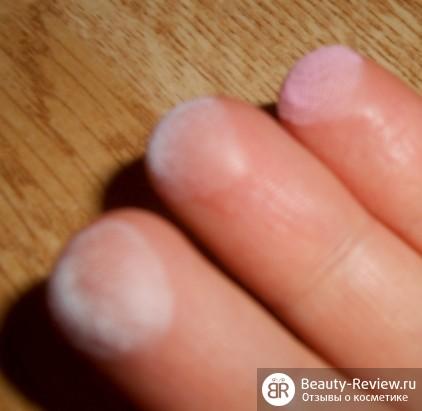 оттенки на пальцах