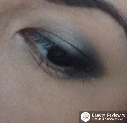 Вечерний макияж глаз с палеткой MaXFactor Xperience(08)