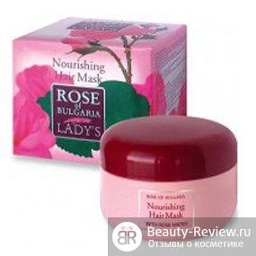 Шампунь Кера-нова укрепляющий против выпадения волос и Маска Rose of bulgaria nourishing hair mask с розовой водой
