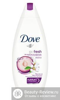 Dove гармония природы аромат сливы и цветка сакуры
