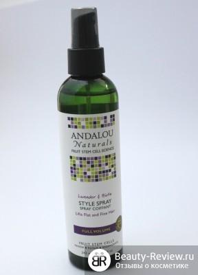 Andalou Naturals — мои новые маски, крем, гель для душа, лосьон и спрей для волос