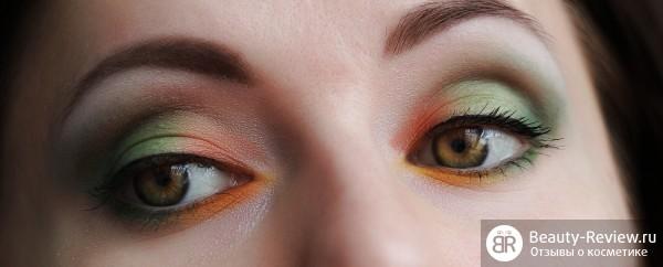 Ультра яркий летний макияж
