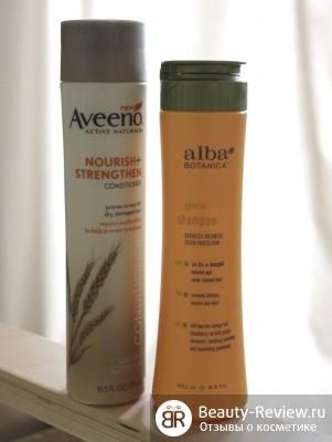 Неудачные покупки — шампунь Alba Botanica и кондиционер Aveeno