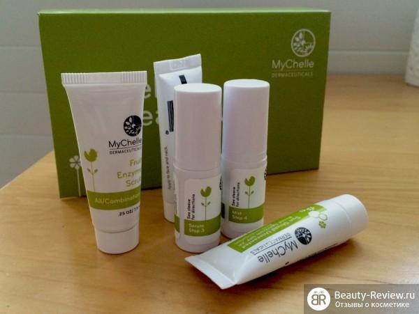 MyChelle Dermaceuticals — набор Hello, Beautiful для комбинированной кожи