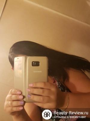 мои волосы блестящии